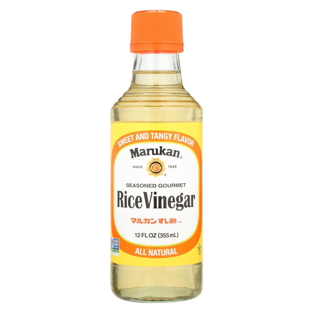 Marukan Seasoned Gourmet - Rice Vinegar - Case Of 6 - 12 Fl Oz.