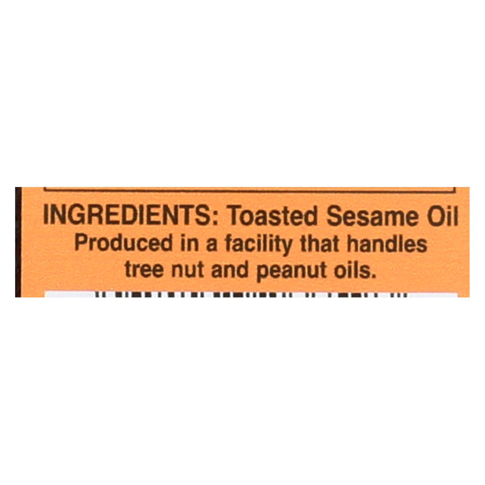 International Collection Sesame Oil - Toasted - Case Of 6 - 8.45 Fl Oz.