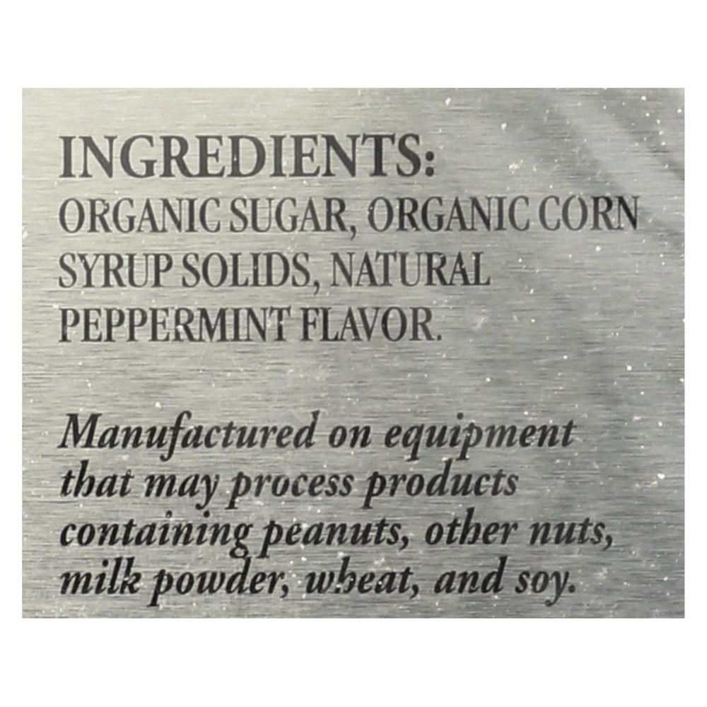 Newman's Own Organics Mints - Organic - Peppermint - 1.65 Oz - Case Of 6