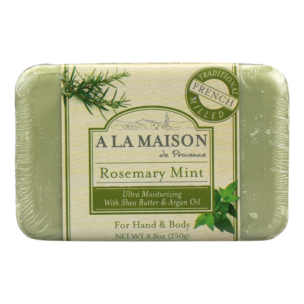 A La Maison - Bar Soap - Rosemary Mint - 8.8 Oz