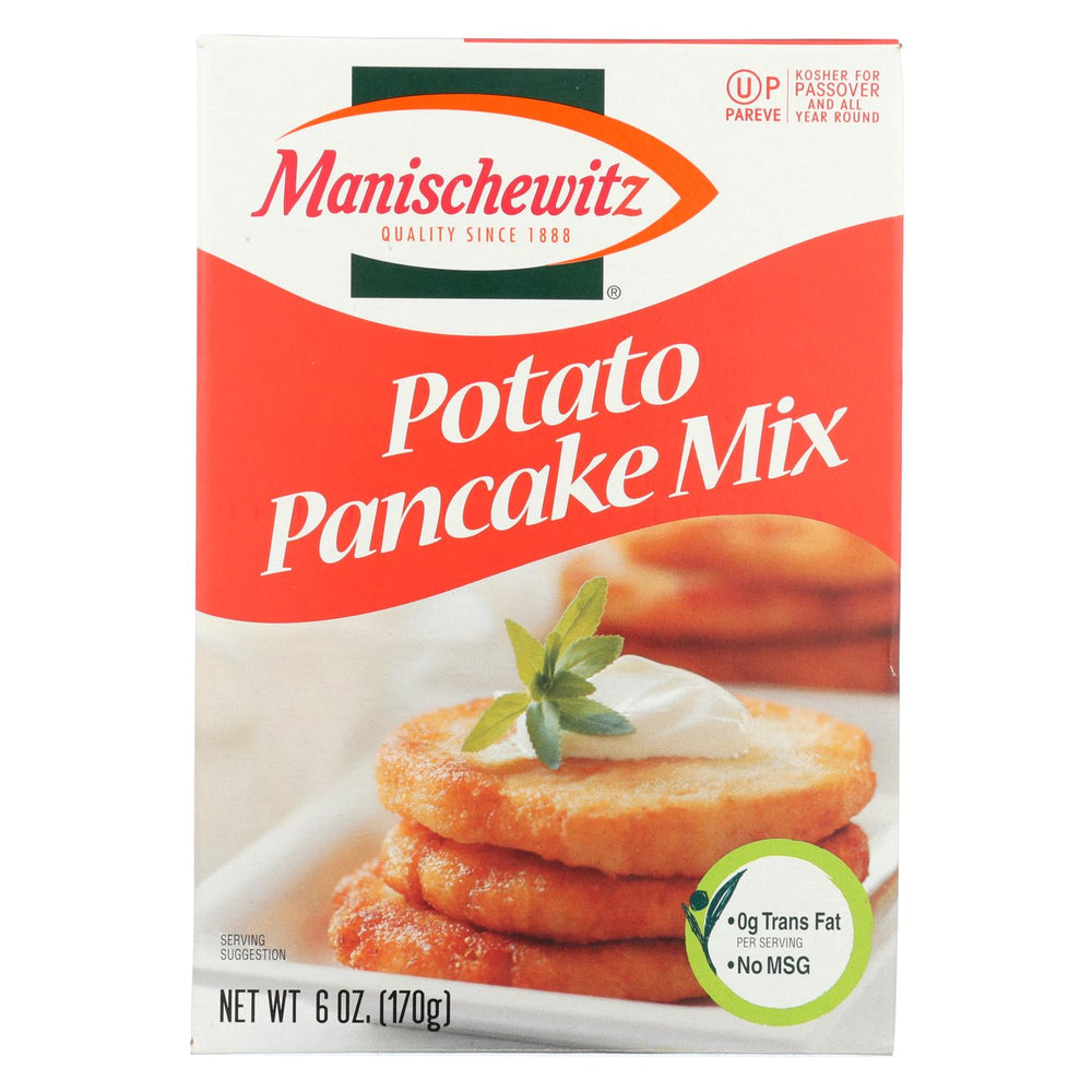Manischewitz - Potato Pancake Mix - Case Of 12 - 6 Oz.