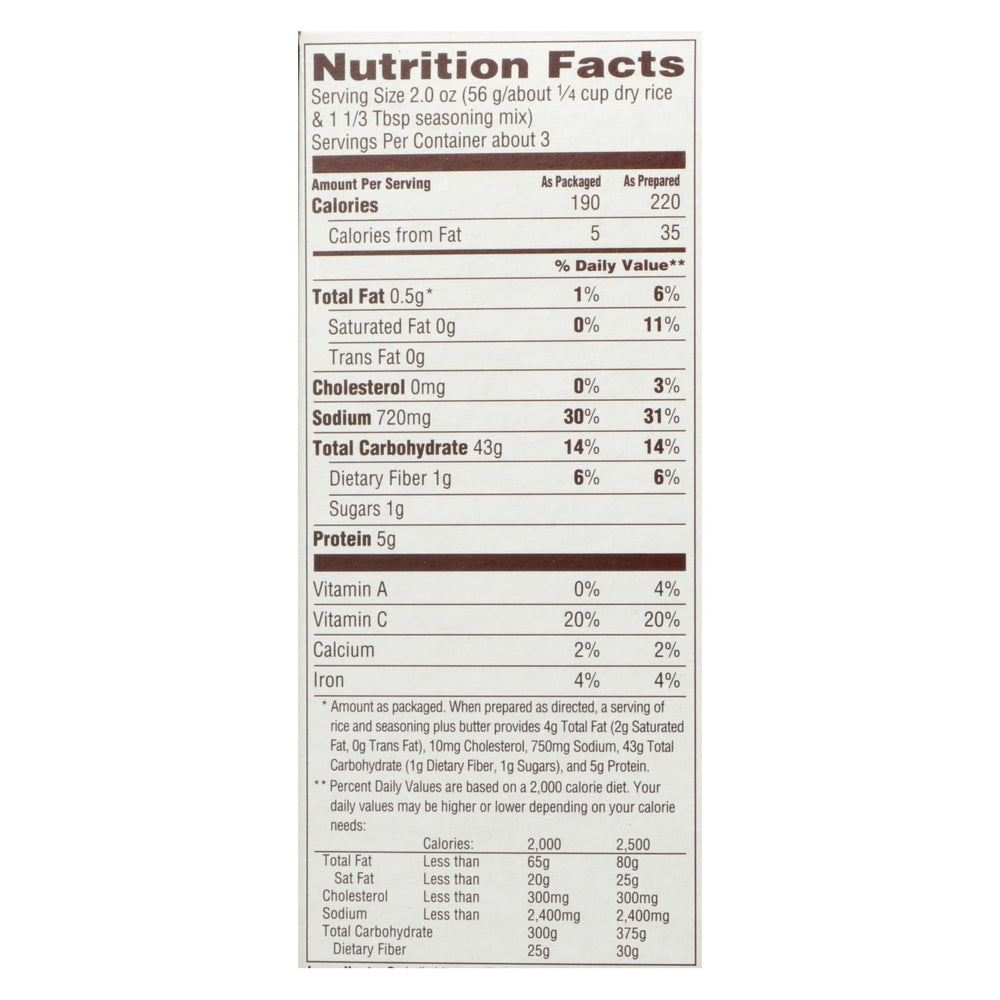 Near East Rice Pilaf Mix - Chicken - Case Of 12 - 6.25 Oz.