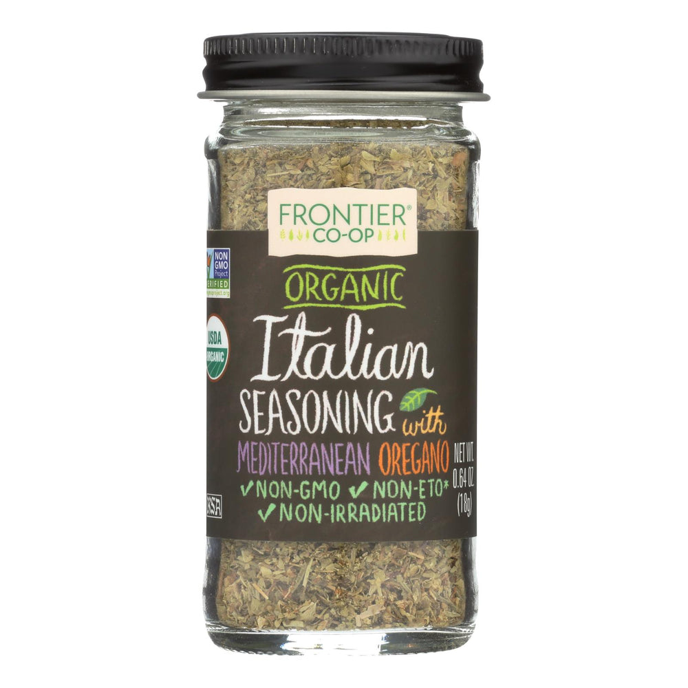 Frontier Herb Italian Seasoning Blend - Organic - .64 Oz