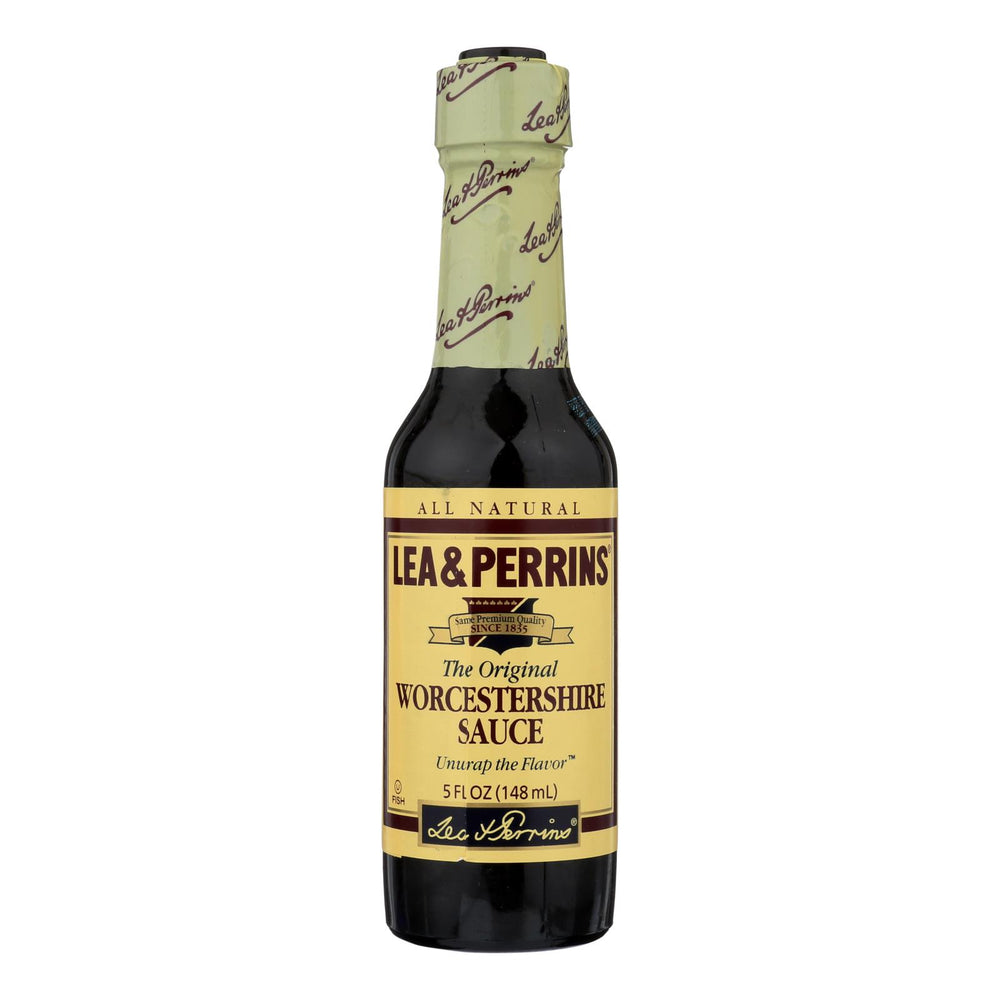 Lea And Perrin Worcestershire Sauce - Case Of 12 - 5 Oz