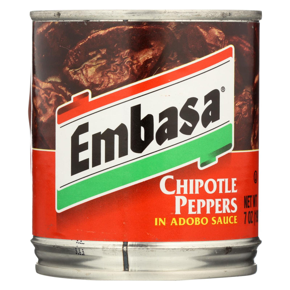 Embasa Adobo Sauce - Chipotle Peppers - Case Of 12 - 7 Oz.