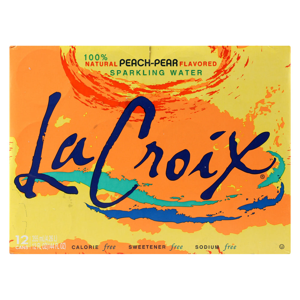 Lacroix Sparkling Water - Case Of 2 - 12-12 Fz