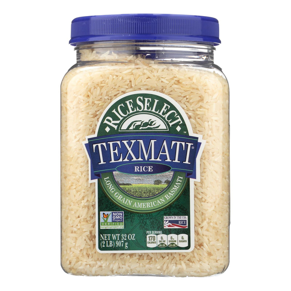 Rice Select Texmati Rice - White - Case Of 4 - 32 Oz.