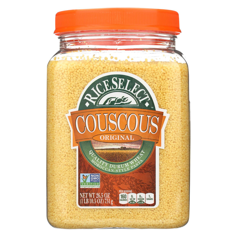 Rice Select Couscous - Original - Case Of 4 - 26.5 Oz.