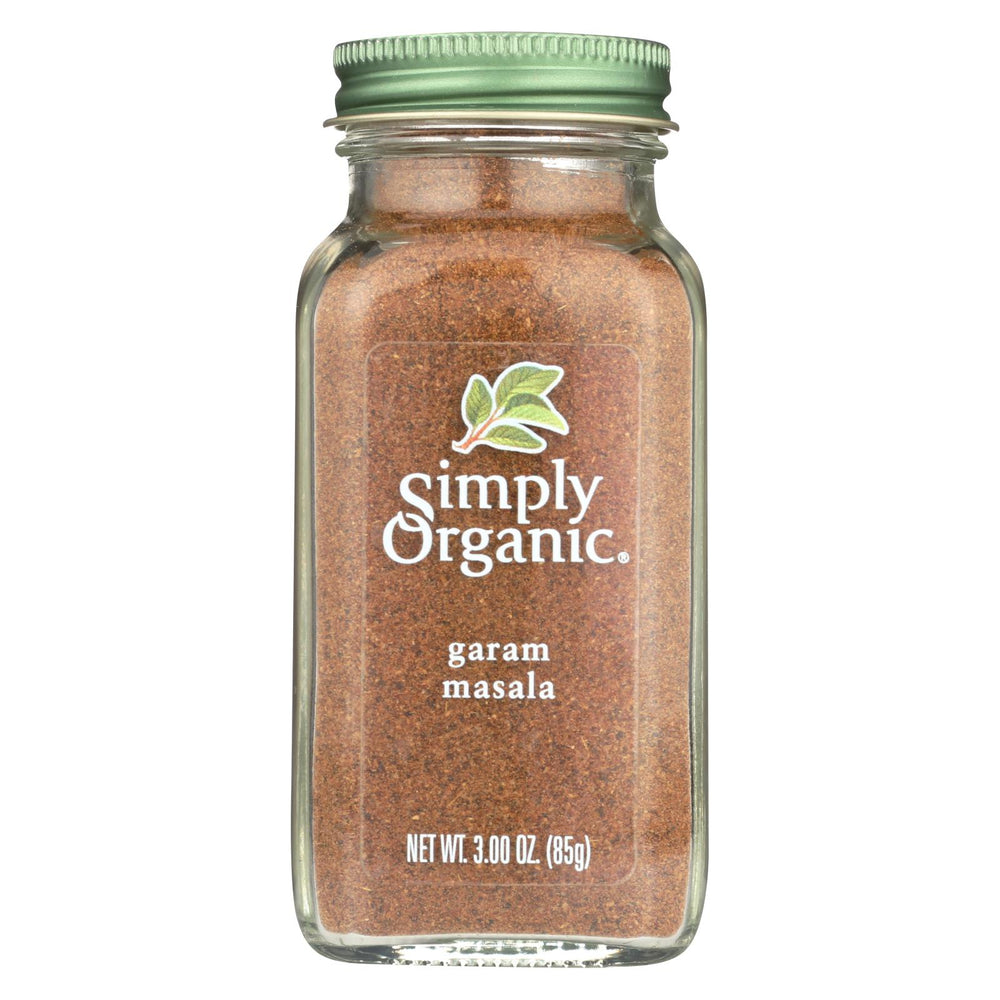 Simply Organic Garam Masala - Case Of 6 - 3 Oz.