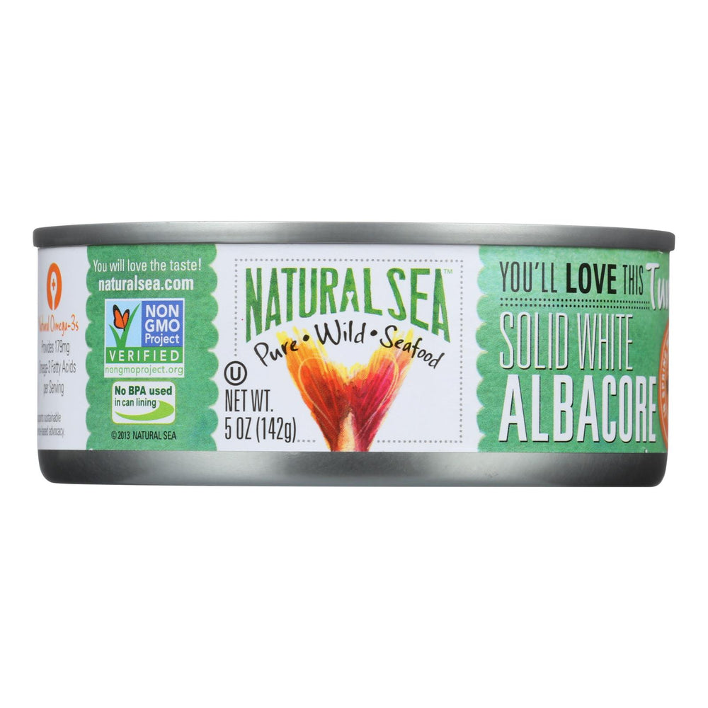 Natural Sea Wild Albacore Tuna - Unsalted - Case Of 12 - 5 Oz.