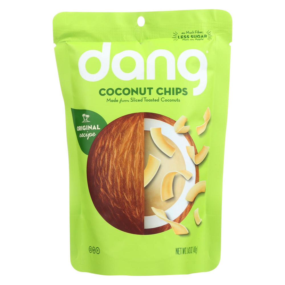 Dang - Toasted Coconut Chips - Original Recipe - Case Of 12 - 1.43 Oz.