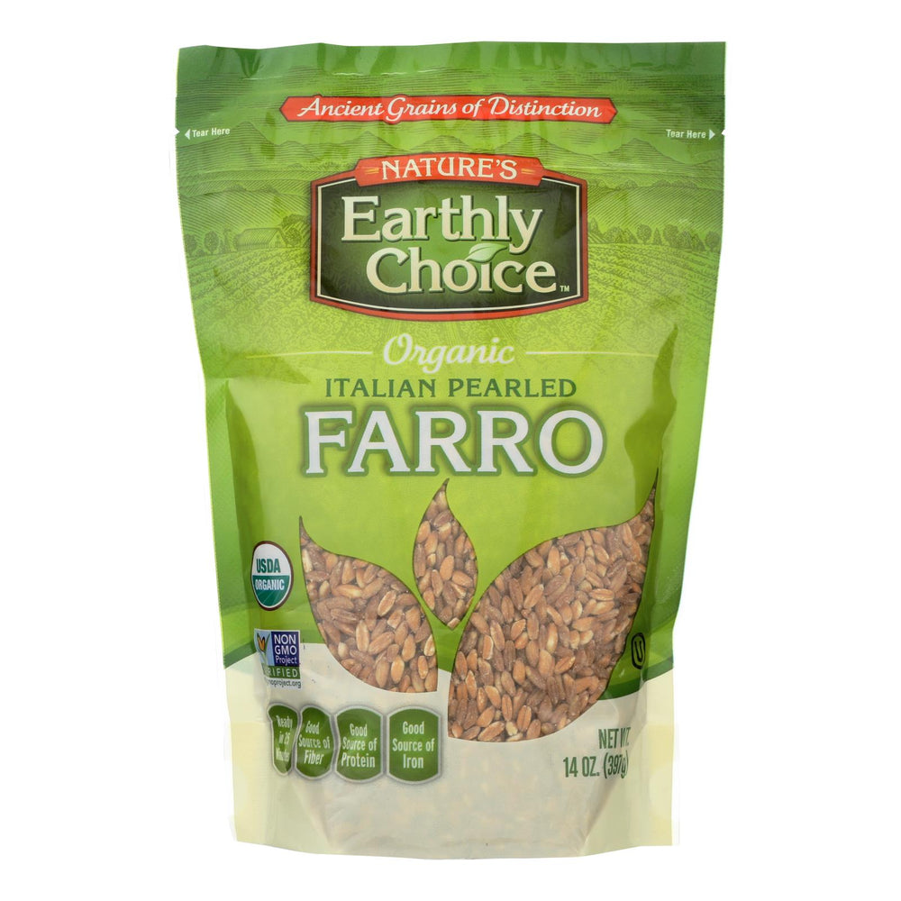 Nature's Earthly Choice Pearled Farro - Italian - Case Of 6 - 14 Oz.