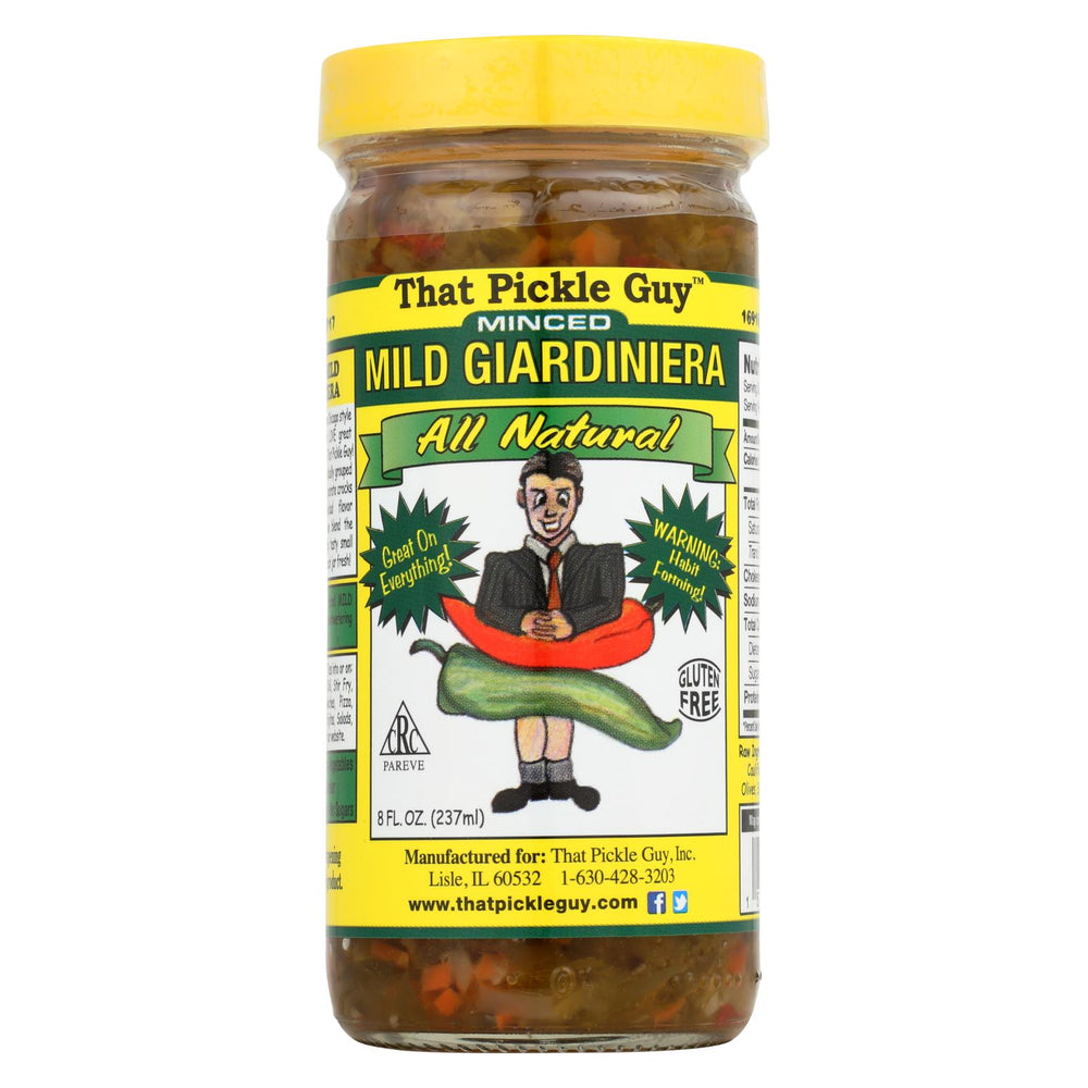 That Pickle Guy Giardiniera - Mild - Minced - Case Of 12 - 8 Fl Oz