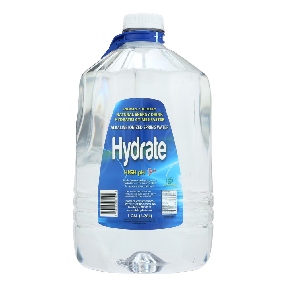 Hydrate - Water Alkaline Ionized - Case Of 4 - 1 Gal
