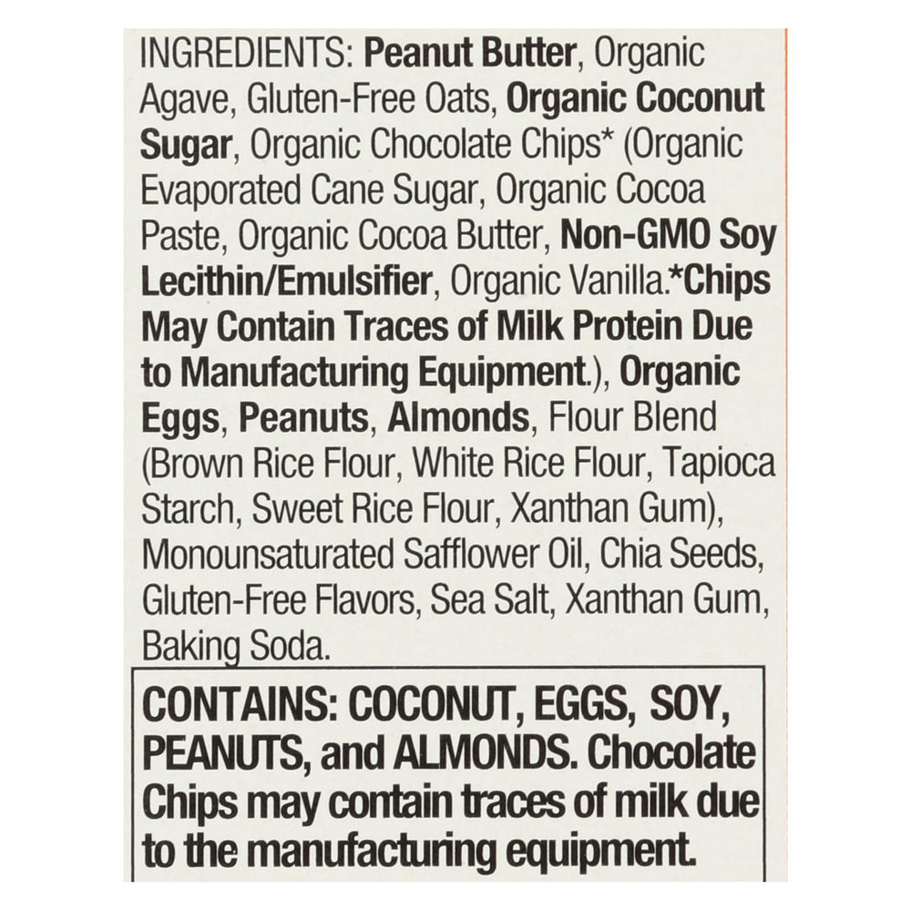 Pamela's Products - Whenever Bars Chocolate Chip - Peanut Oat Butter - Case Of 6 - 7.05 Oz.