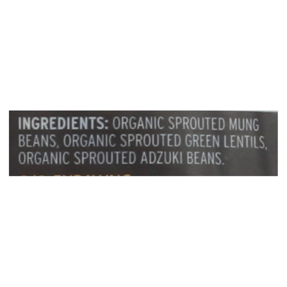 Truroots Organic Green Lentils - Sprouted - Case Of 6 - 9 Oz.