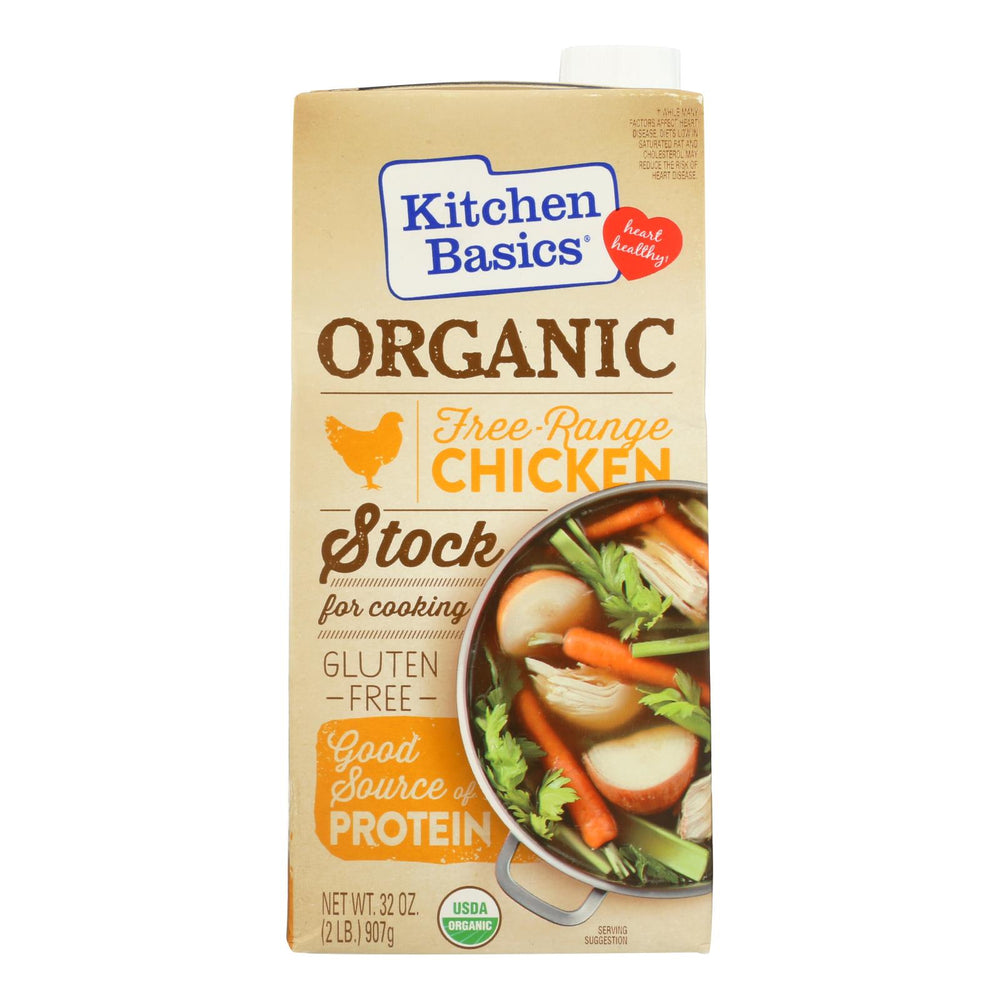 Kitchen Basics Chicken Stock - Case Of 12 - 32 Fl Oz.