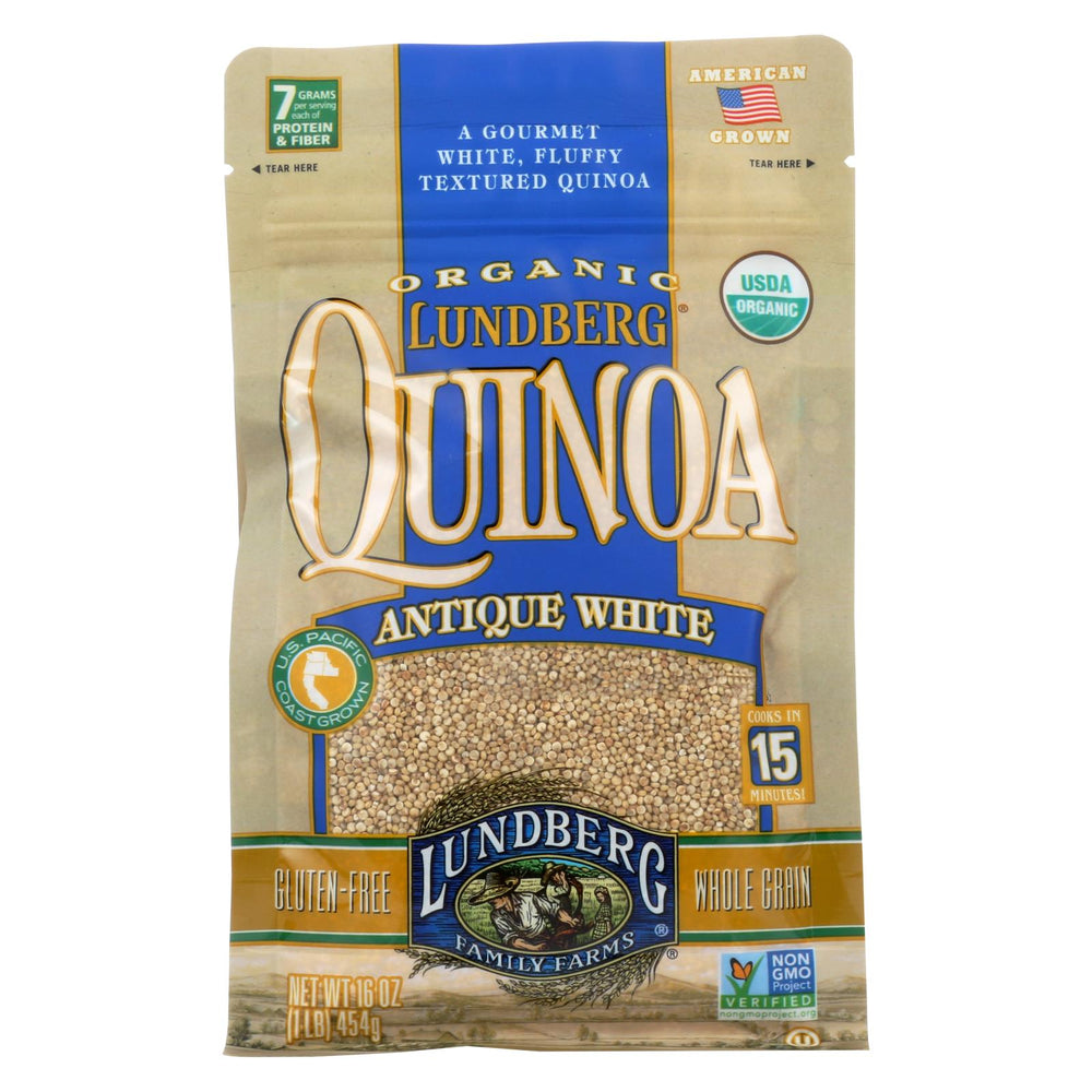 Lundberg Family Farms Organic California White Basmati Rice - Case Of 6 - 1 Lb.