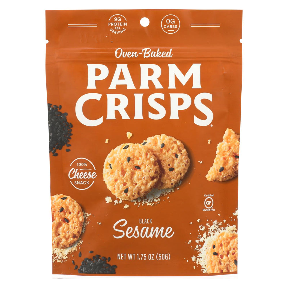 Kitchen Table Bakers Parm Crisps - Sesame Parmesan - Case Of 12 - 1.75 Oz.