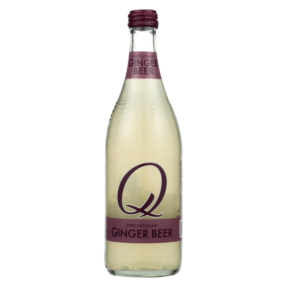 Q Drinks Ginger Beer - Case Of 6 - 16.9 Fl Oz
