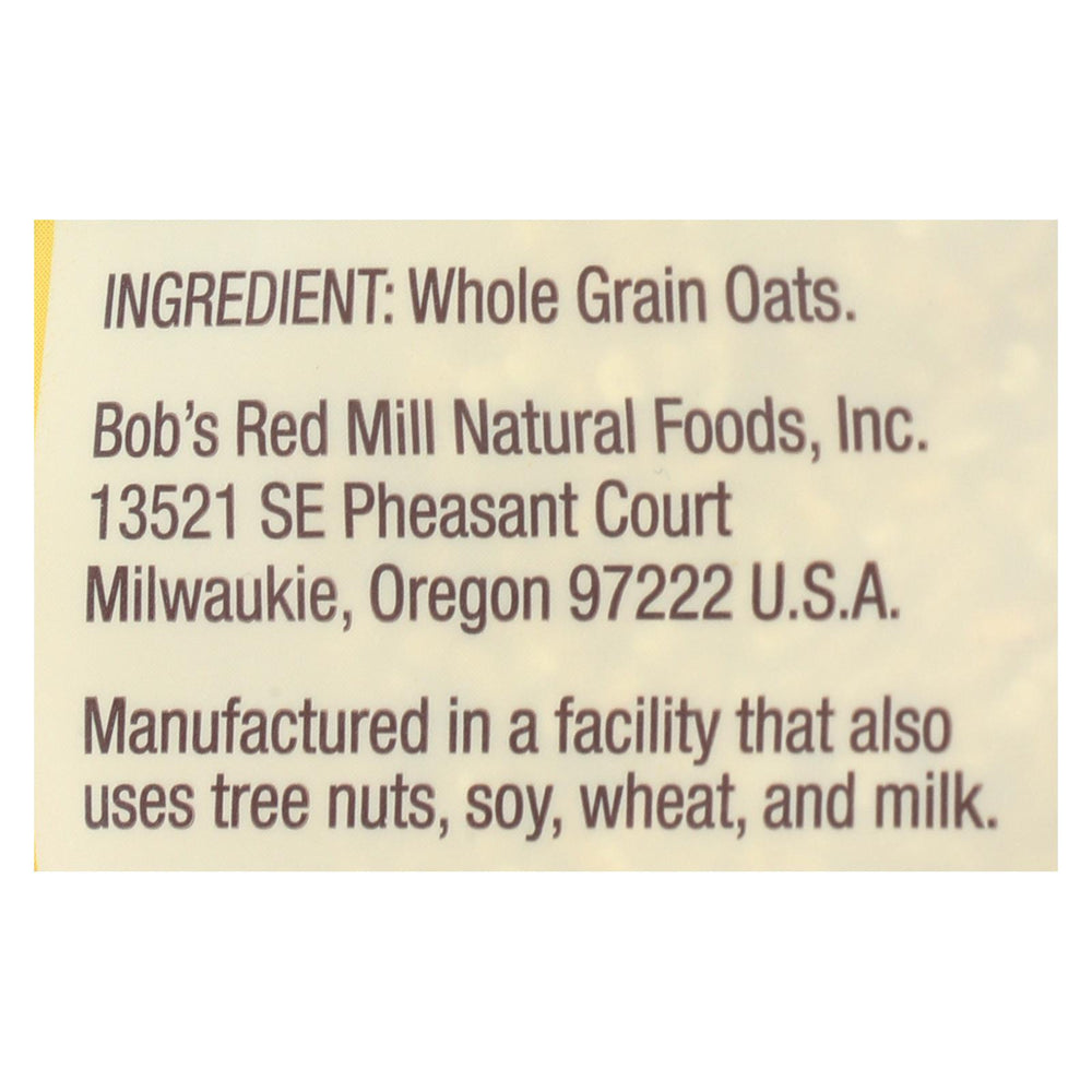 Bob's Red Mill - Steel Cut Oats - Case Of 4-24 Oz