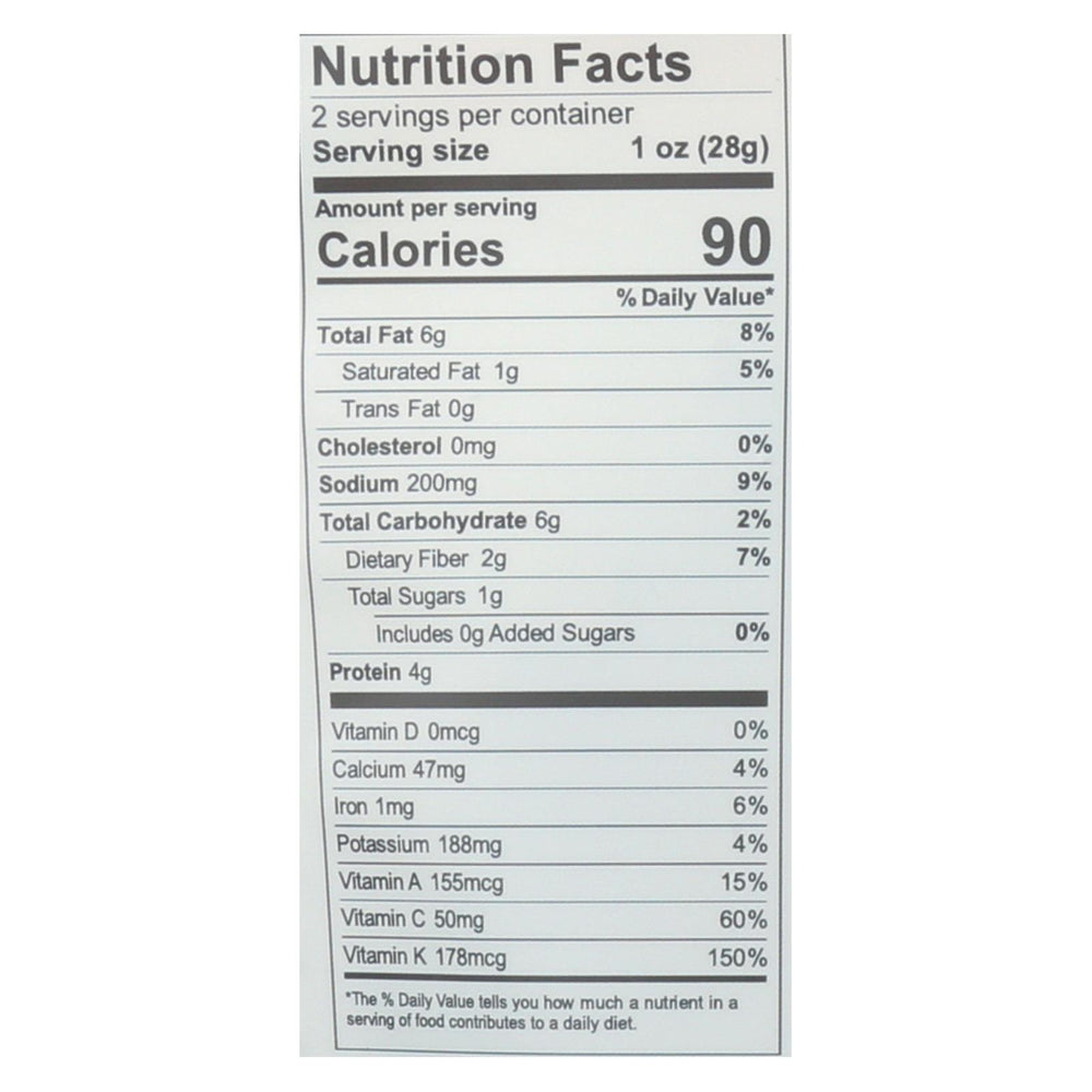 Brad's Plant Based - Raw Crunch - Naked - Case Of 12 - 2 Oz.