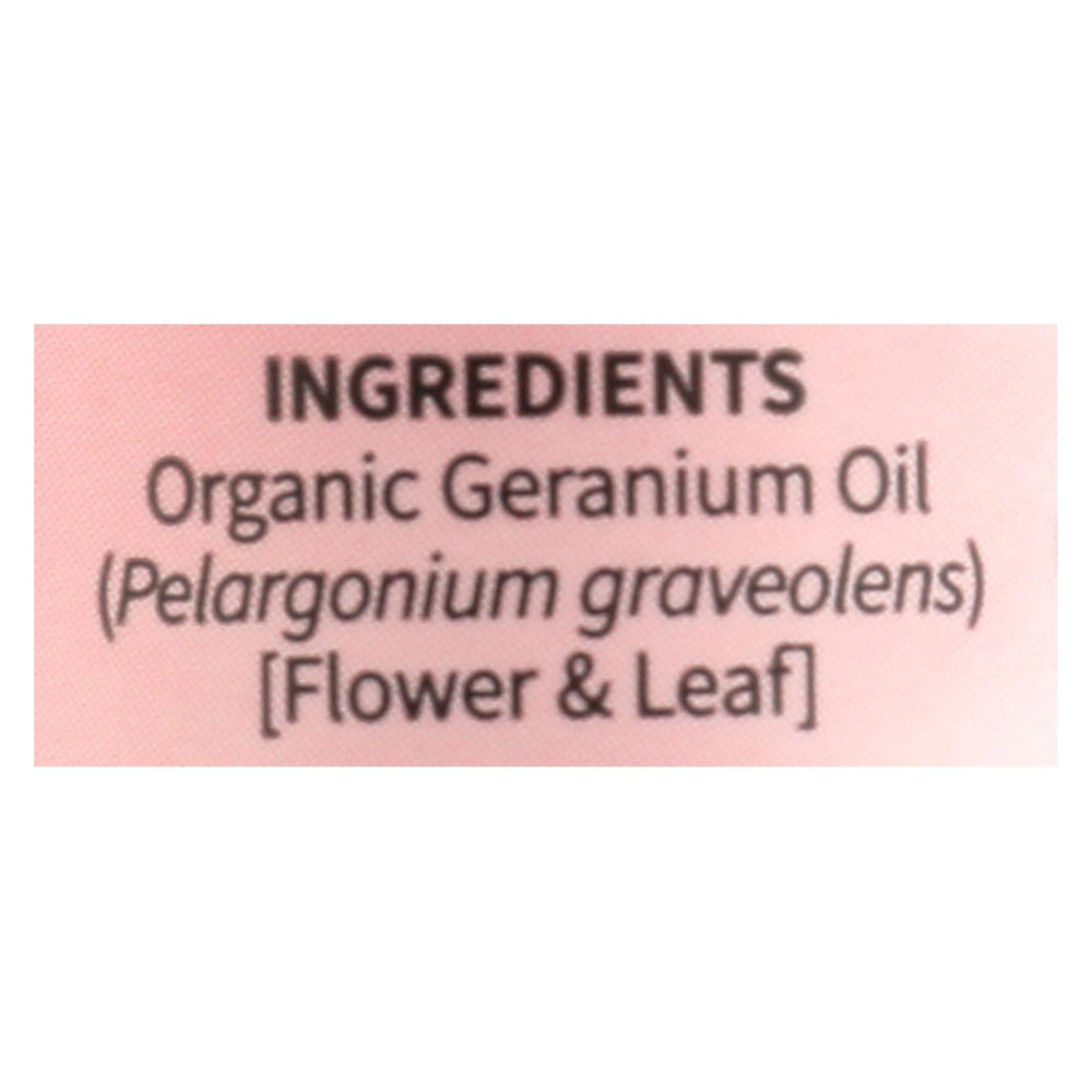 Garden Of Life - Essential Oil Geranium - .5 Fz