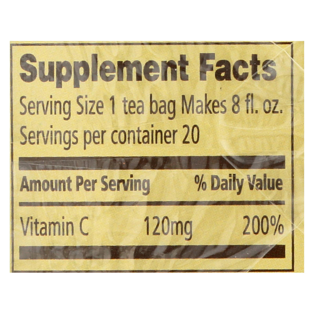 Celestial Seasonings - Tea - Citrus Sunrise - Case Of 6 - 20 Bags