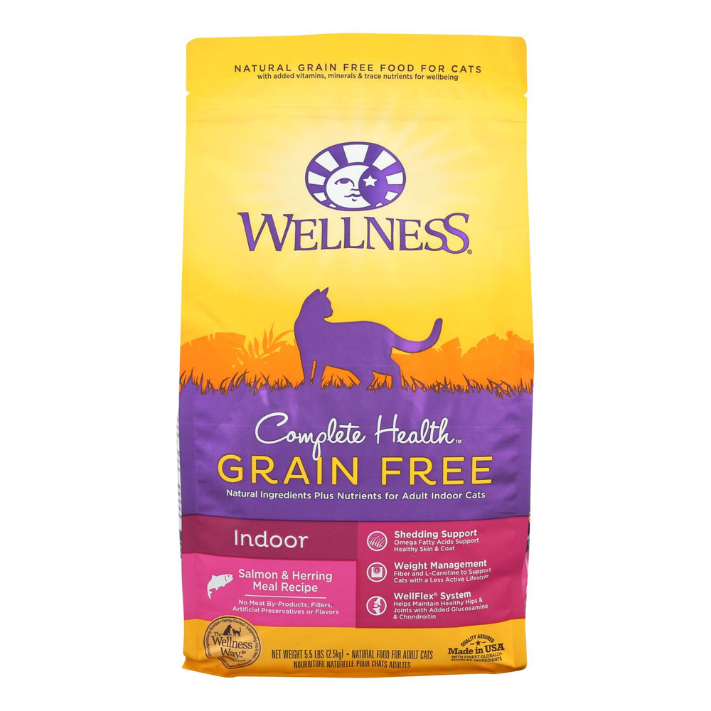 Wellness Pet Products - Cmplt Hlth Meal Salm-hrng - Case Of 4 - 5.5 Lb