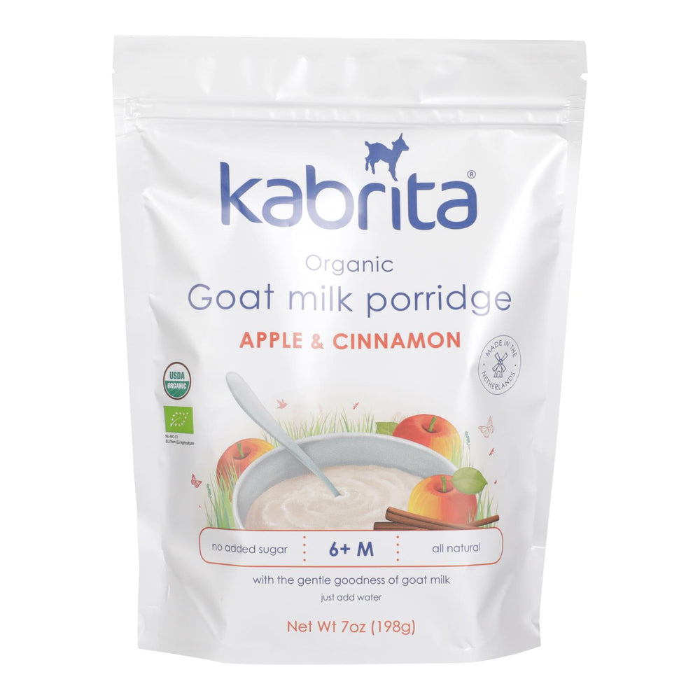 Kabrita - Goat Milk Prrdg Apple Cn - Case Of 6 - 7 Oz