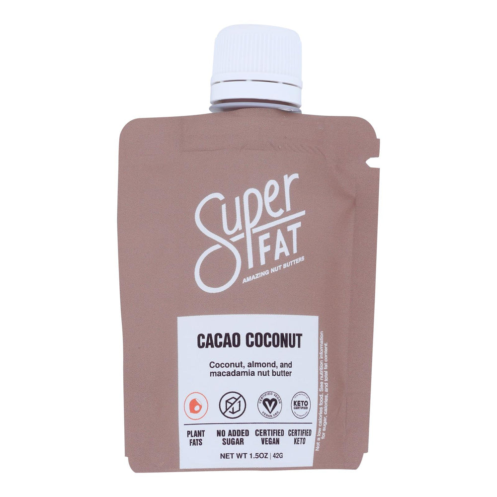 Superfat - Nut Butter Cacao Coconut - Case Of 10 - 1.5 Oz