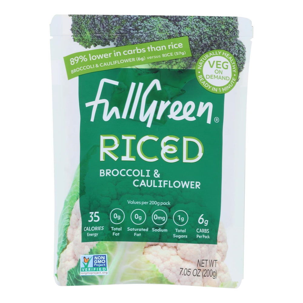 Fullgreen - Riced Veg Brocc-cauliflwr - Case Of 6-7.05 Oz