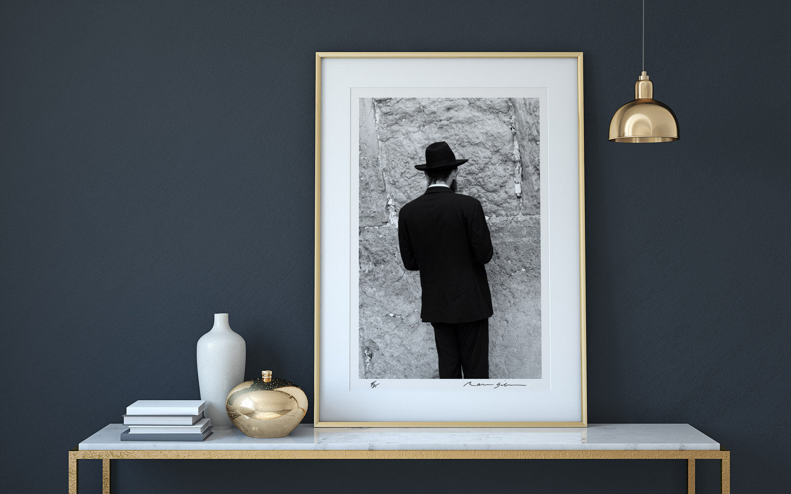 Western Wall : Ralph Gibson : Sacred Land : Limited Edition Print (Signed)