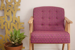 Armchair - Pink Pebbles