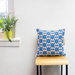 Cushion - Blue Fanna