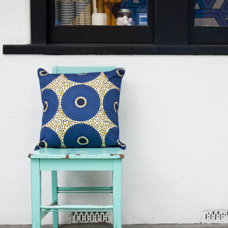 Cushion - Nimba Blue