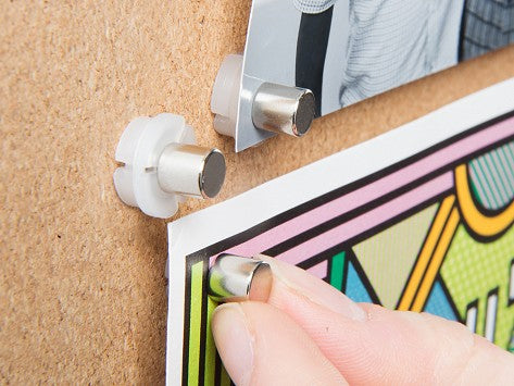 Magnetacks magnetic push pins featured on The Grommet
