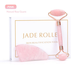 Rose Quartz Jade Roller