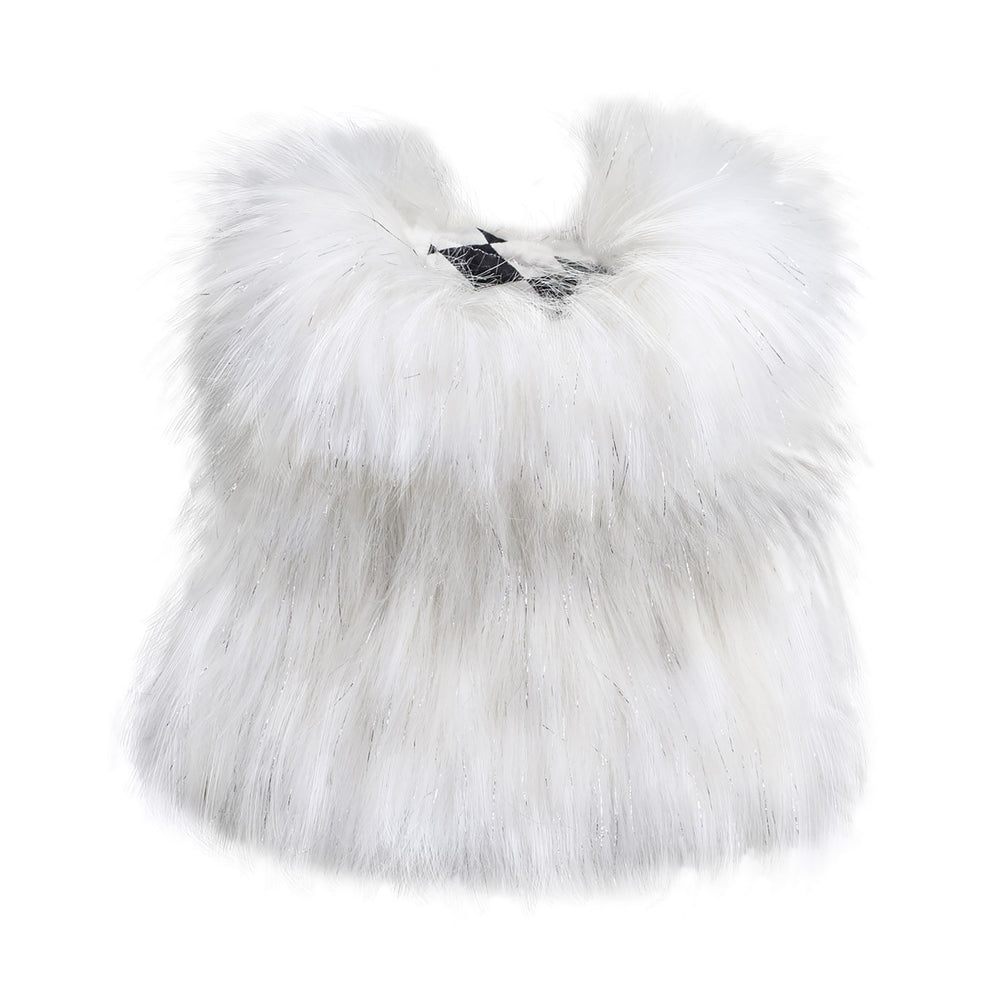 Load image into Gallery viewer, Arctic Ice Faux Fur Dog Vest