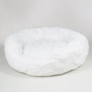 Amour Dog Bed in Ivory