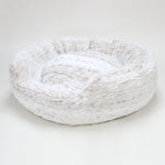 Amour Dog Bed in Snow Leopard