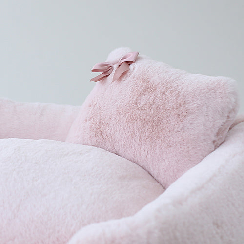 The Divine Dog Bed in Blush (Custom/Drop Ship)