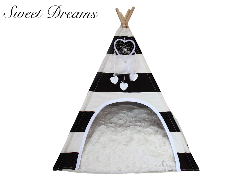 Sweet Dreams Dog Teepee