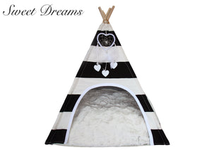 Load image into Gallery viewer, Sweet Dreams Dog Teepee