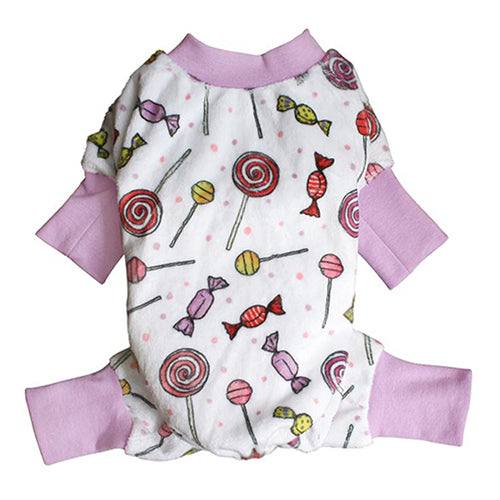 Sweet Candies Ultra Soft Plush Dog Pajama