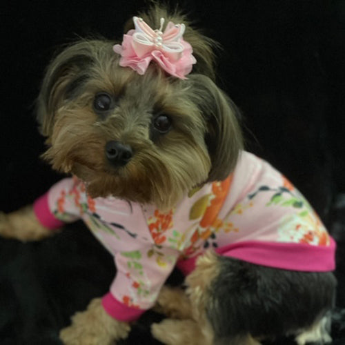 Tiffany Dog Top in Pink