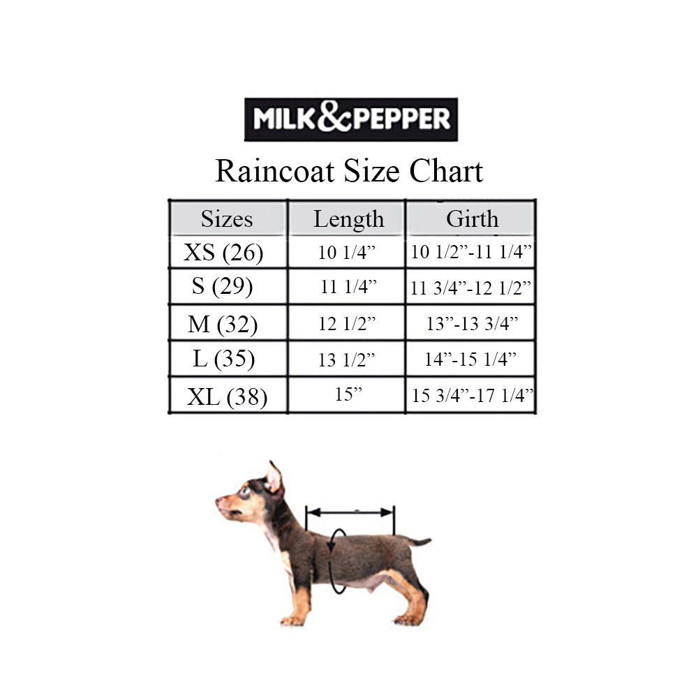 Portofino Transparent Dog Raincoat