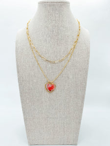 "The Anderson Layering Necklace - Sweetheart (18"")"