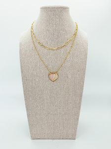 "The Anderson Layering Necklace - Sweetheart  (16"")"