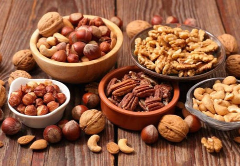 nuts for menstrual diet